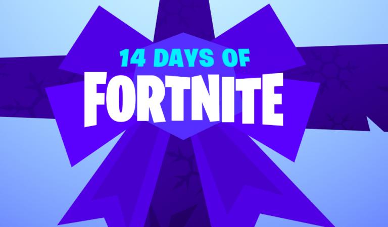 """Fortnite adakan """"14 Days of Fortnite"""" untuk merayakan Natal dan Tahun Baru"""