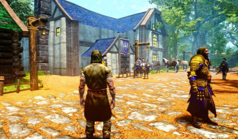 Seorang Modder Berniat Bangun Ulang Dunia World of Warcraft di Skyrim