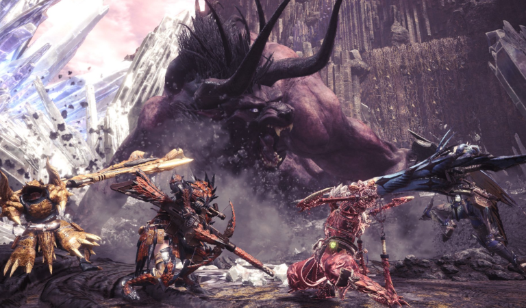 Behemoth dari Final Fantasy akan Datangi Dunia Monster Hunter World PC