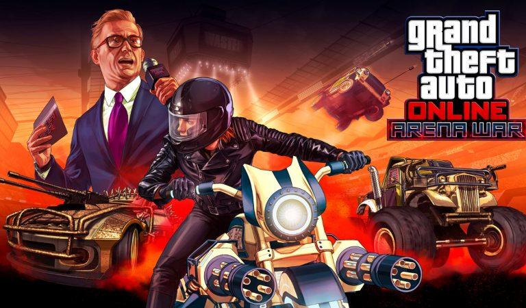 Menolak Mati, GTA Online Keluarkan Update Bertema Mad Max Plus Death Race
