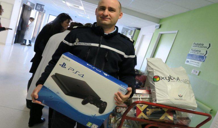 Kepolisian Perancis Donasikan PS4 Curian Kepada Rumah Sakit Anak