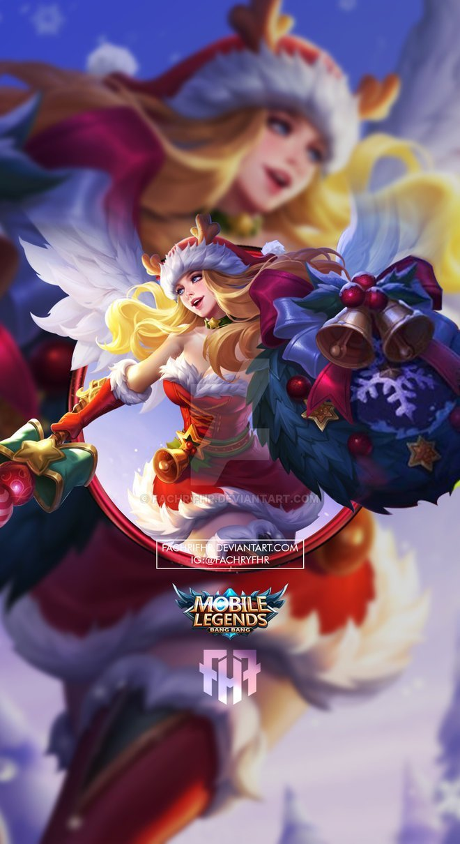 Christmas Carnival Lancelot.300 Wallpaper Mobile Legend Full Hd Untuk Hp Dan Komputermu