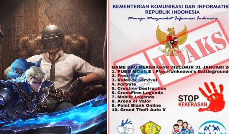 Kominfo Pastikan Tidak Akan Blokir Mobile Legends dan PUBG Mobile di Indonesia