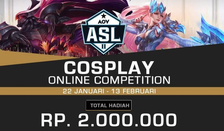 AOV Gelar Kompertisi Cosplay Online Berhadiah Jutaan Rupiah