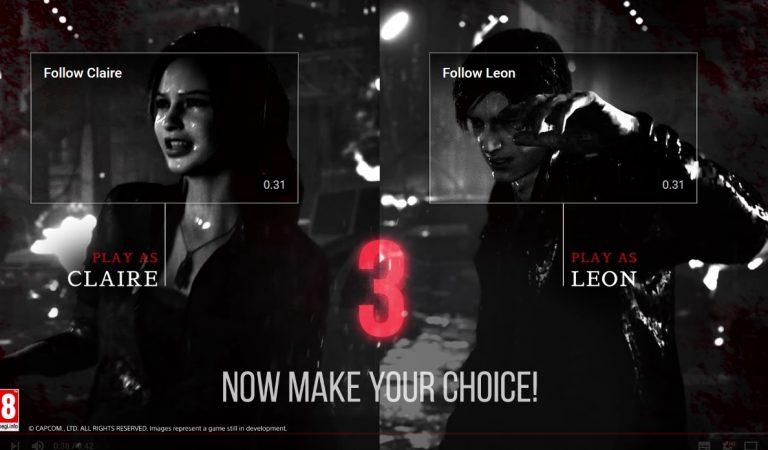 Resident Evil 2 Remake Unjuk Trailer Interaktif Keren, Buat Kalian Seakan Bermain Game