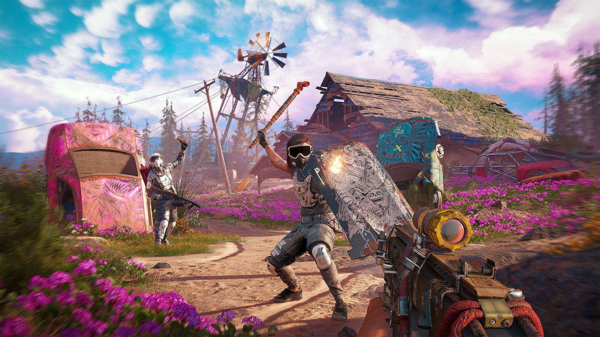 Siapkah Pcmu Berikut Spesifikasi Dari Far Cry 5 New Dawn Gamebrott Com