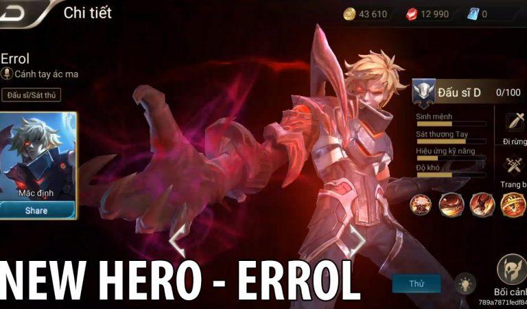Errol Hero Baru AOV! Teror Untuk Pemain Archer Jungler?