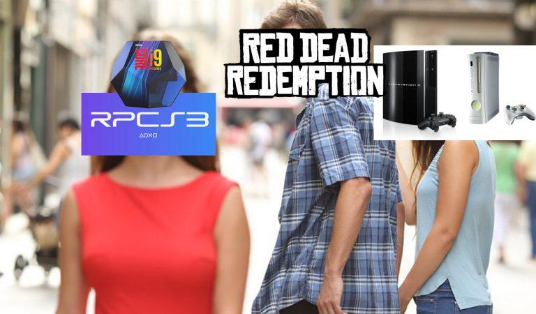 """Red Dead Redemption Berjalan """"Mulus"""" di Emulator RPCS 3 dengan PC"""