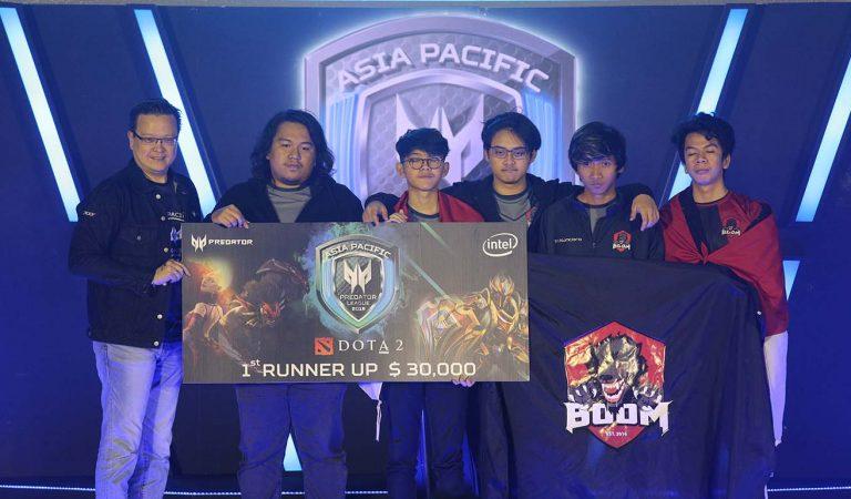 BOOM.ID Raih Juara 2 Dota 2 Asia Pasifik Predator League 2019