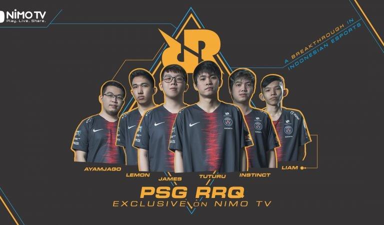 Gaet RRQ, Nimo TV Siap Perkenalkan Tim eSports Lokal ke Masyarakat Luas