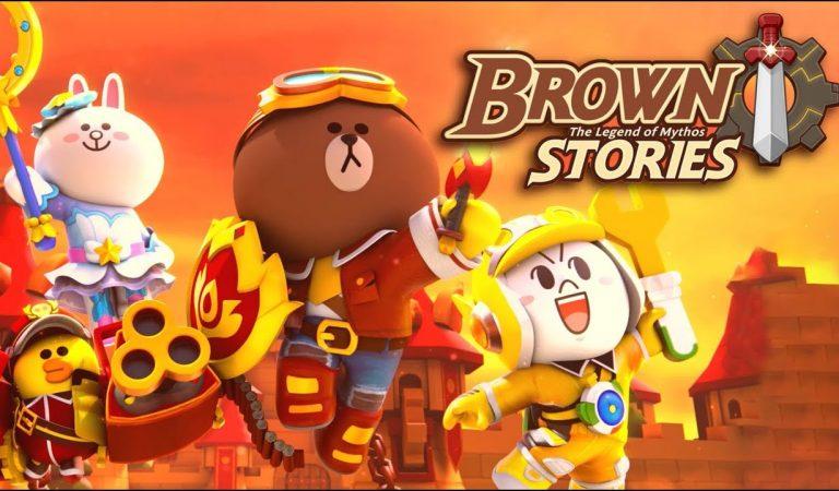 """Line Hadirkan Game Strategic Tower Defense dengan nama """"Brown Stories : The Legends of Mythos!"""""""