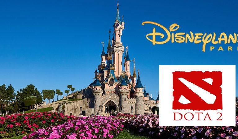 DisneyLand Paris Perancis akan Gelar Turnamen Dota 2 Major Tahun Ini