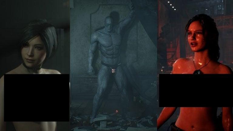 NSFW] Mod Nakal Resident Evil 2 Remake Semakin Liar Bertebaran!