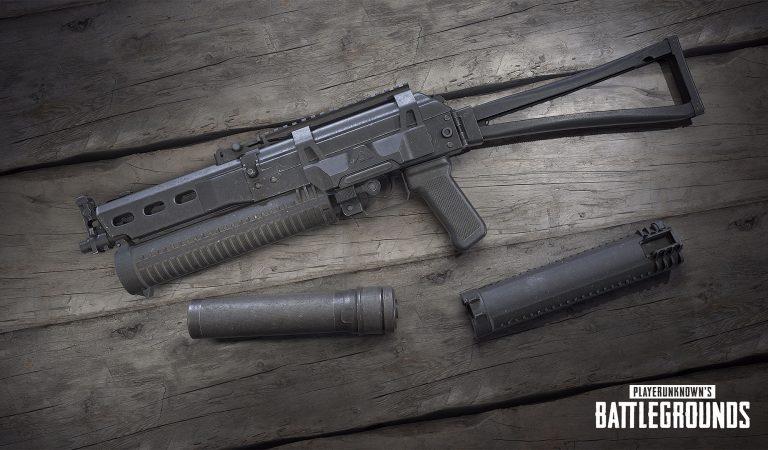 Senjata Baru PUBG PP-19 Bizon Adalah SMG untuk Para Solo Skuad Player