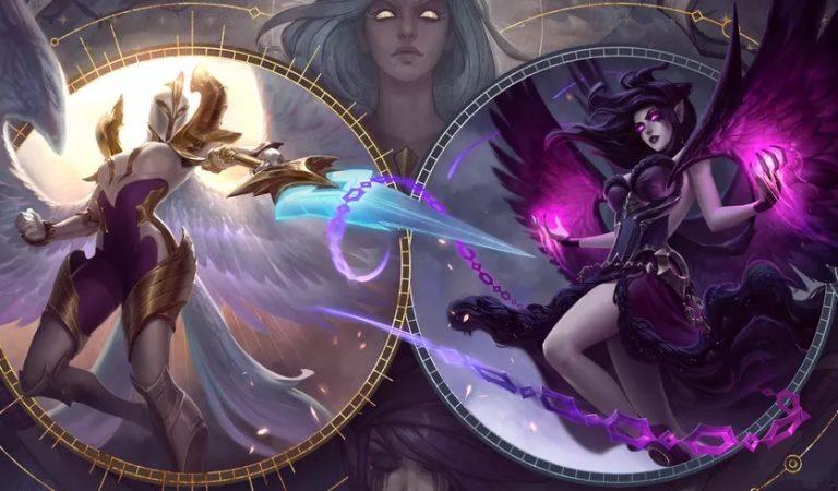 League of Legends Perkenalkan Dua Skin Baru Aspect of Justice untuk Morgana dan Kayle