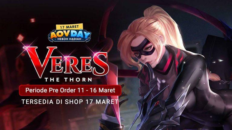 Cukup Login Garena AOV Siap Bagikan Hero OP Gratis dan Hadiah Lainya!
