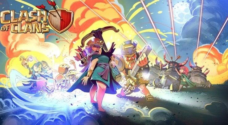 Ketinggalan Clash Of Clans Akan Sematkan Fitur Battle Pass