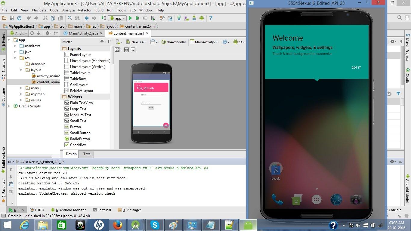 Developer Android Studio