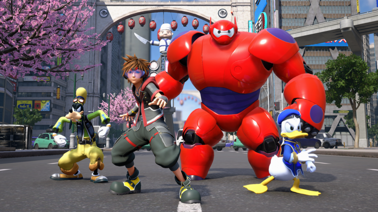 Kingdom Hearts 3 baymax