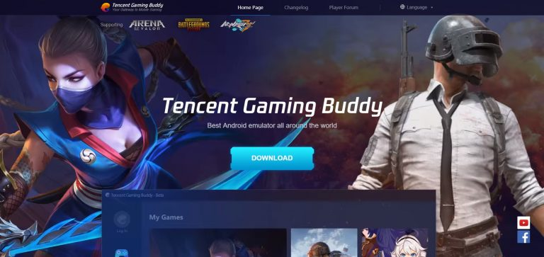 Tencent Gaming Buddy, Cara Install dan Spek PC - Gamebrott.com