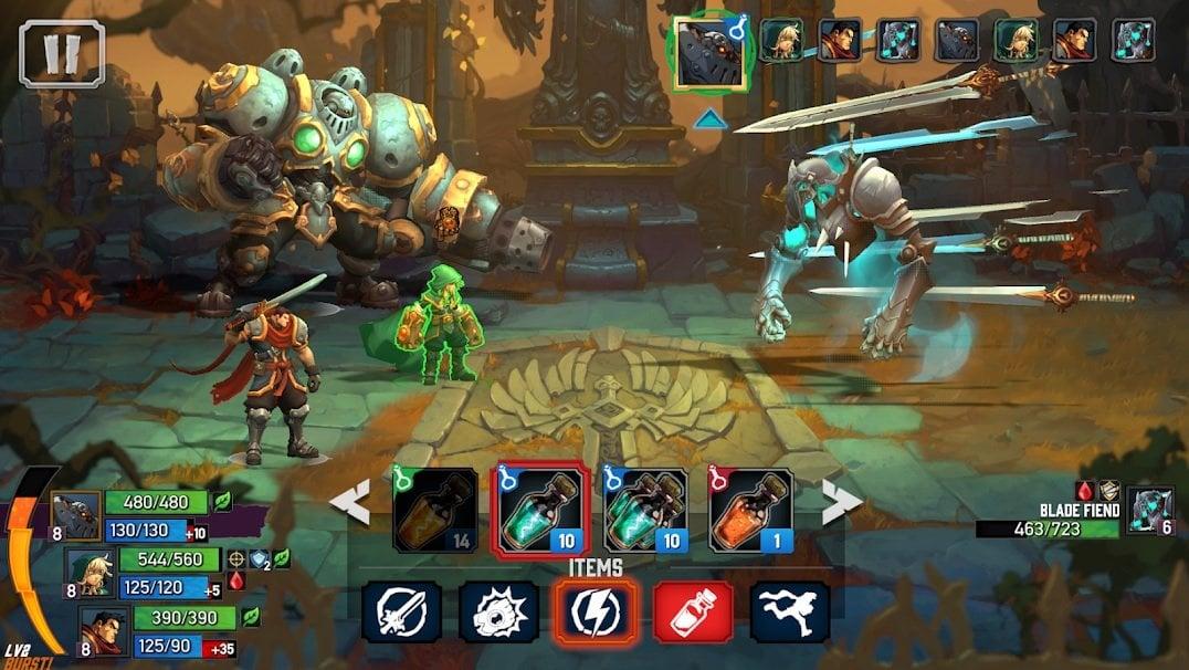 Battle Chasers : Nightwar, Game RPG Jadul dengan Grafik ...