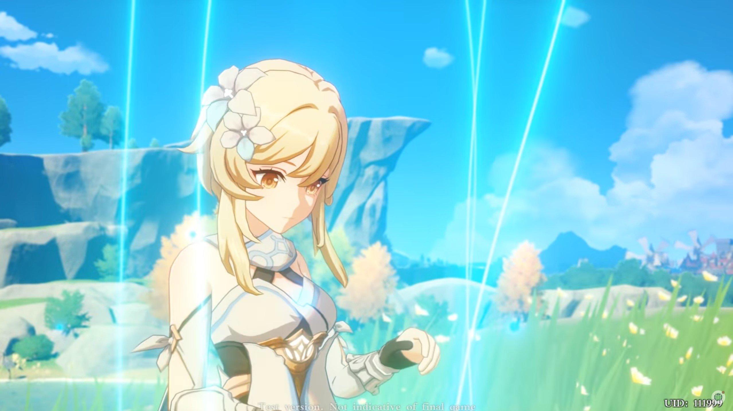 Genshin Impact Ketika Anime Dan The Legends Of Zelda Breath Of The Wild Bertemu Gamebrott Com