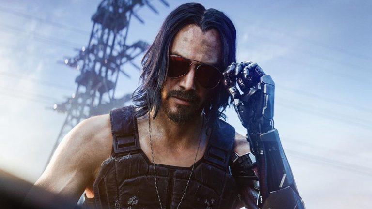 Image result for cyberpunk 2077 keanu