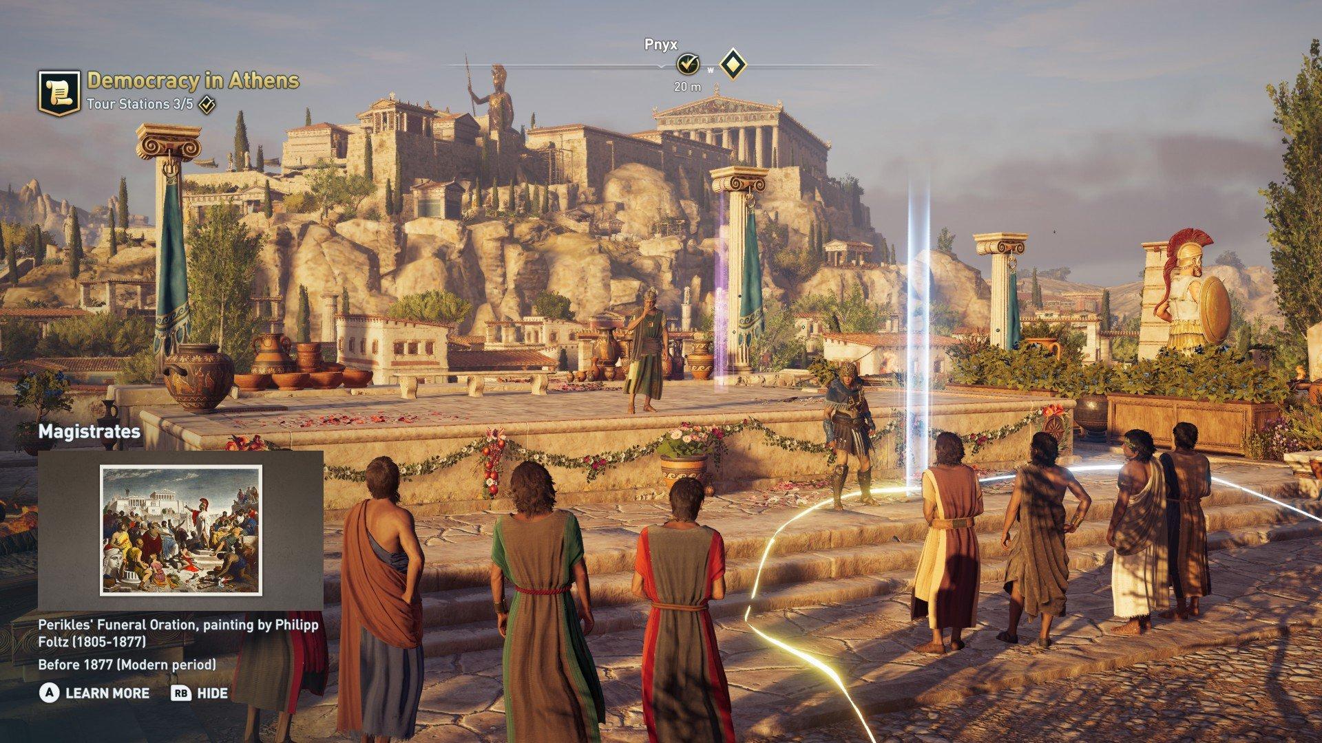 Kamu Bisa Belajar Sejarah Yunani Melalui Assassin S Creed Dengan Discovery Tour Ancient Greece Gamebrott Com