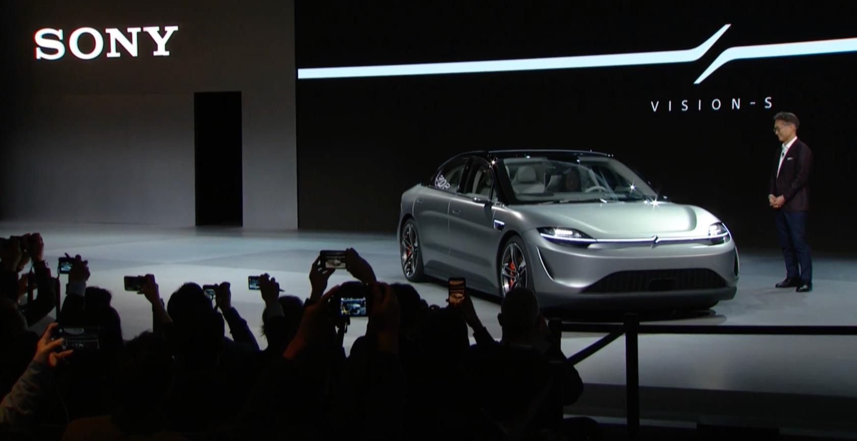 The Vision-S, Mobil Listrik Pertama Sony