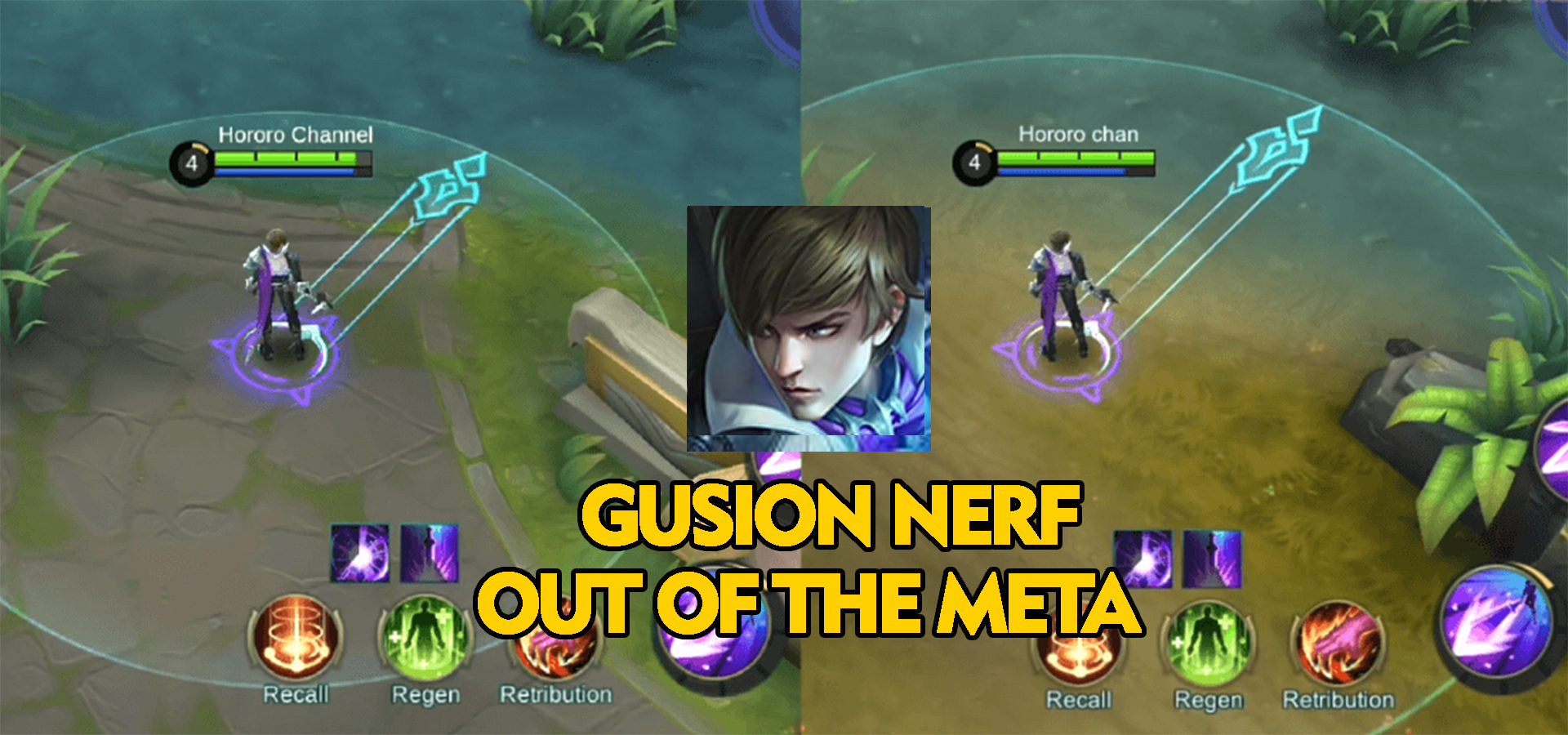 Dapatkan Nerf Akhirnya Hero Assassin Gusion Akan Keluar