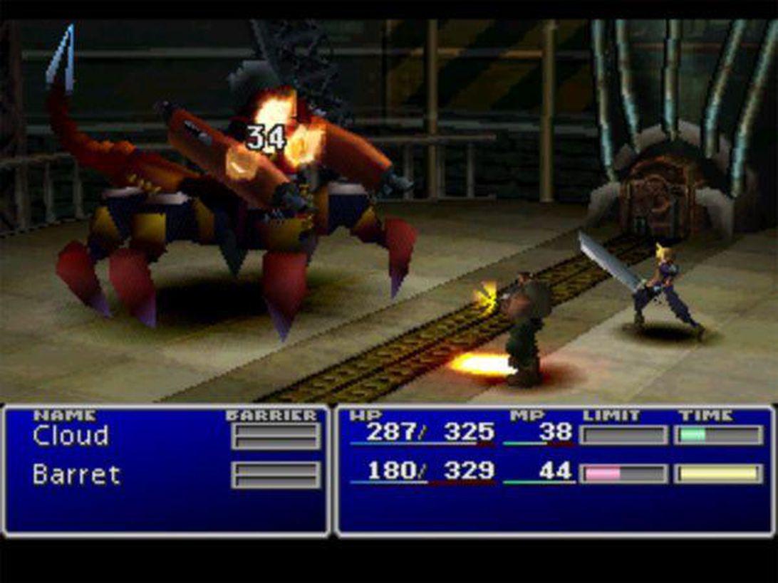 Final Fantasy VII Remake vs Original - 14 Bentuk Komparasi