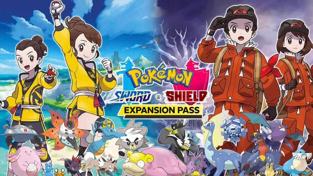 Detail Baru DLC Pokemon Sword and Shield Bentuk baru