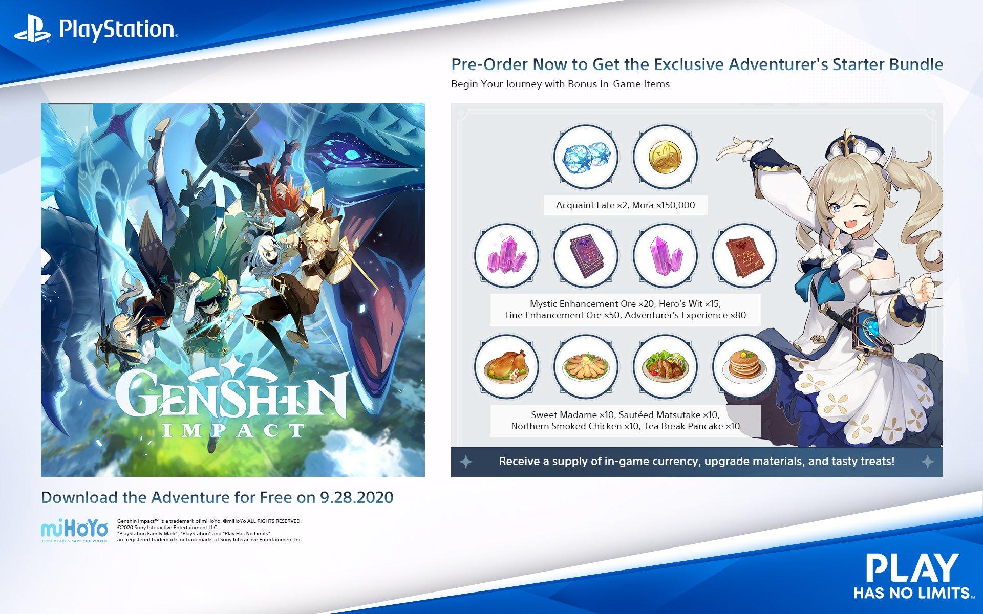 Versi Playstation 4 Genshin Impact Meluncur Bersamaan Dengan Pc Dan Mobile Gamebrott Com