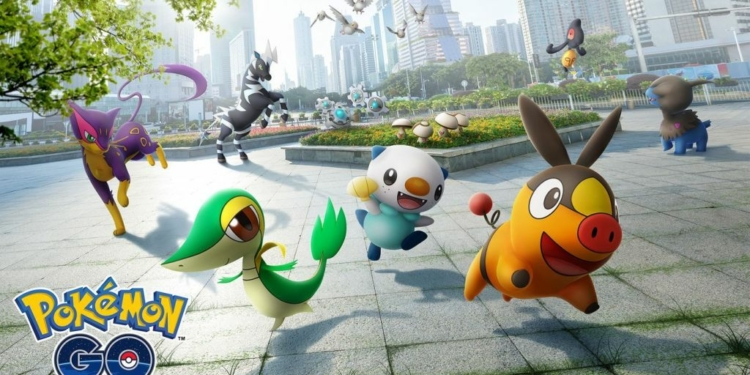 Pokemon Go Gen 5 Key Art