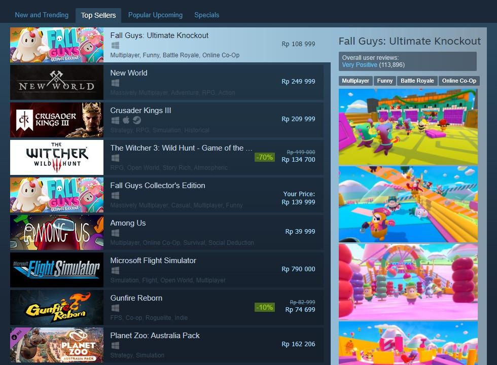 Fall Guys Top Seller