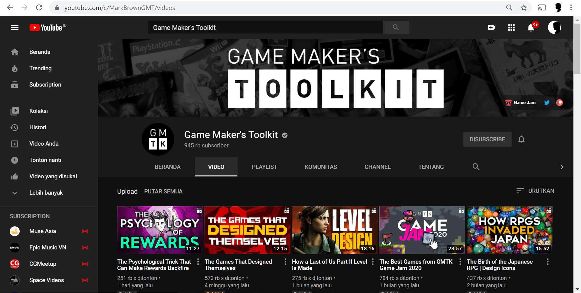 Game Maker's Toolkit