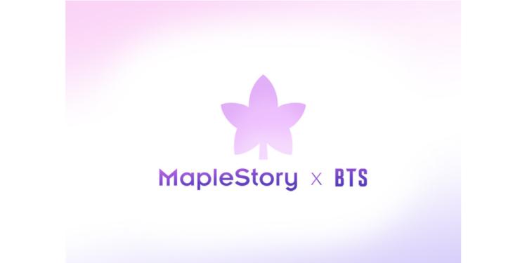 [maplestory] Maplestory X Bts Logo (1)