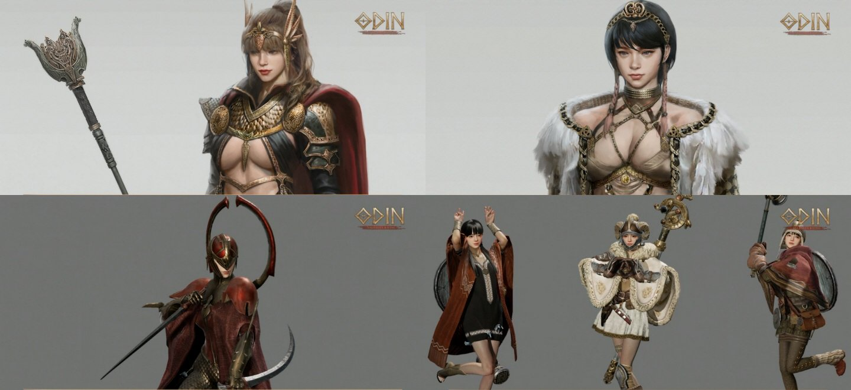 Odin Valhalla Rising Costumes Artwork