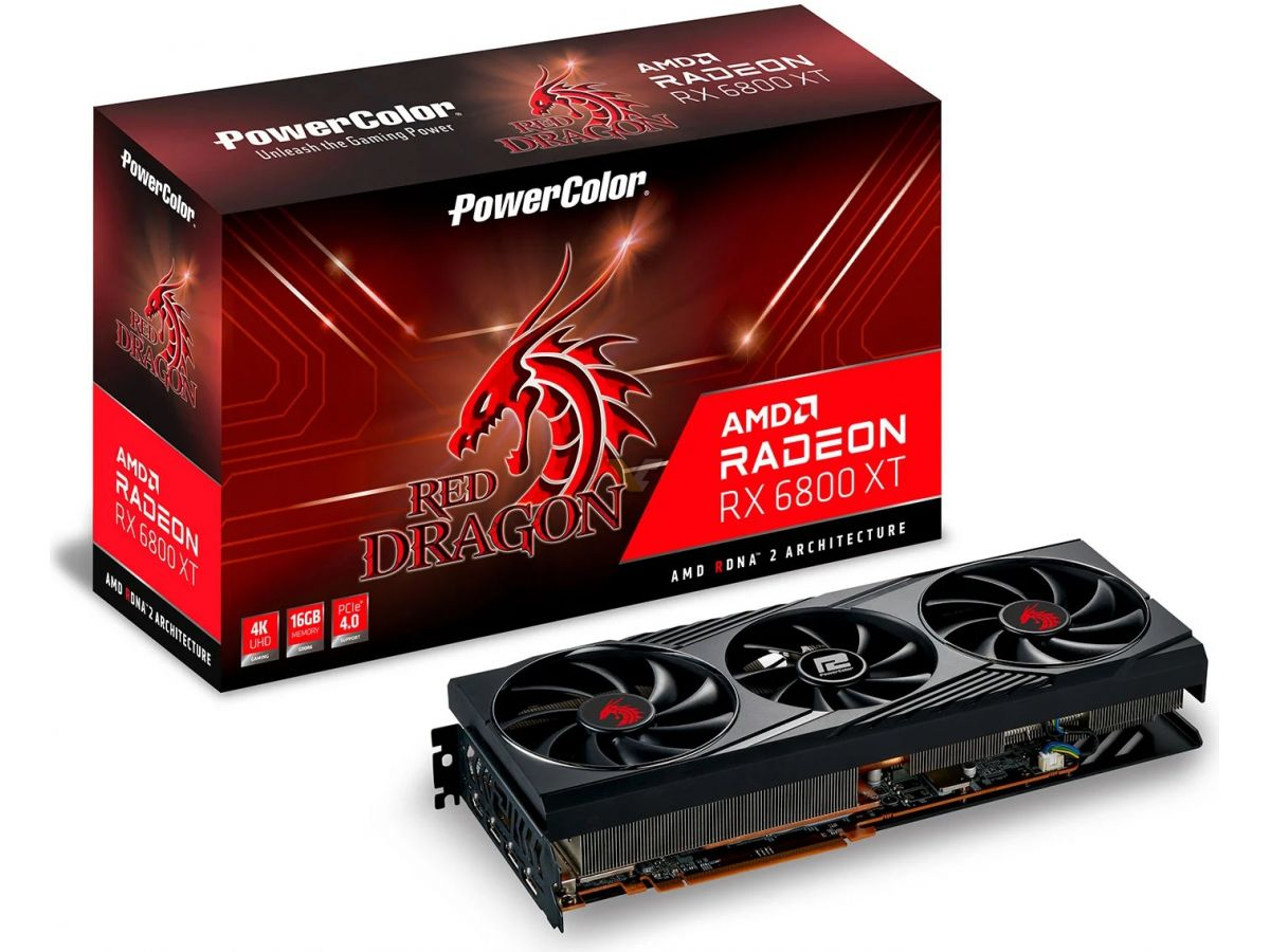 Powercolor Radeon Rx 6800 Xt 16gb Red Dragon1 1