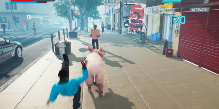 Pig Skater Simulator