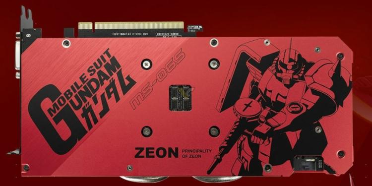 Asus Geforce Gtx 1660 Super 6gb Tuf Zaku Ii Edition4