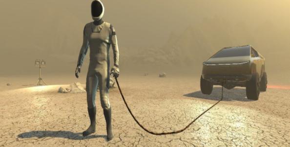 Elon Musk Game Mars