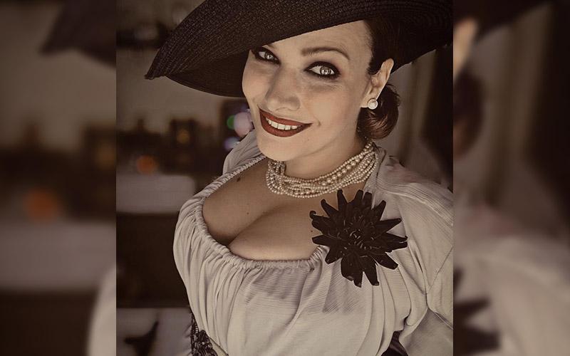 Curvy Rhiwen Lady Dimitrescu