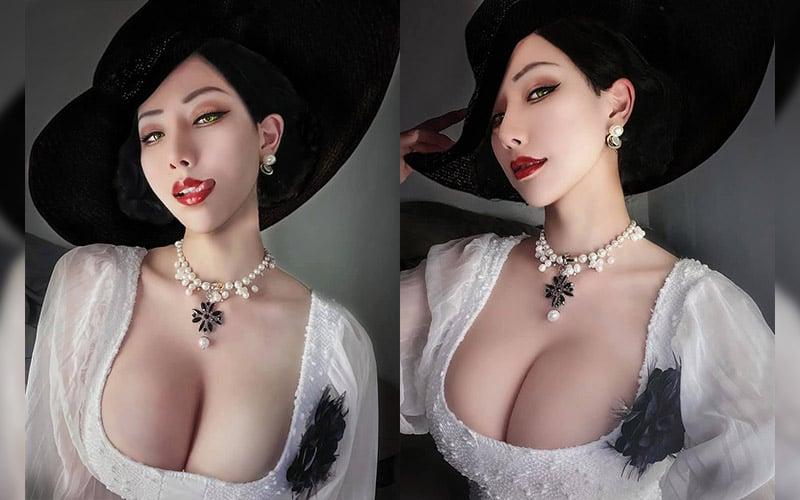 Hane Ame Lady Dimitrescu