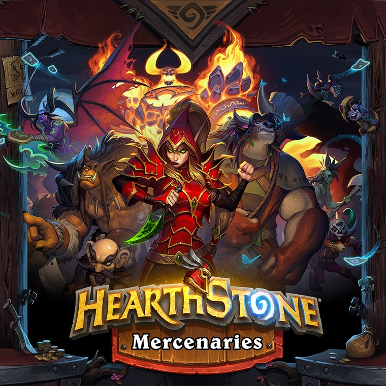 Hearthstone Mercenaries