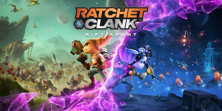 Ratchet And Clank Rift Apart Cover