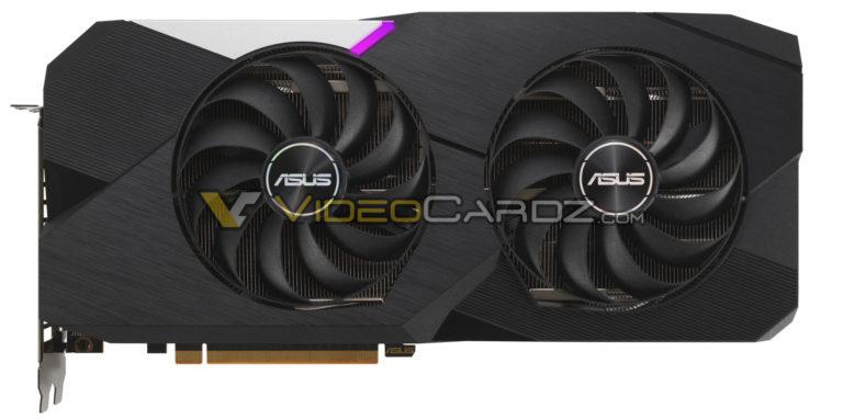 Asus Radeon Rx 6700 Xt Dual 768x382