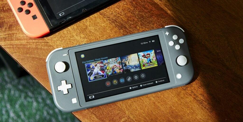 Nintendo Switch Lite 0750 1570034031