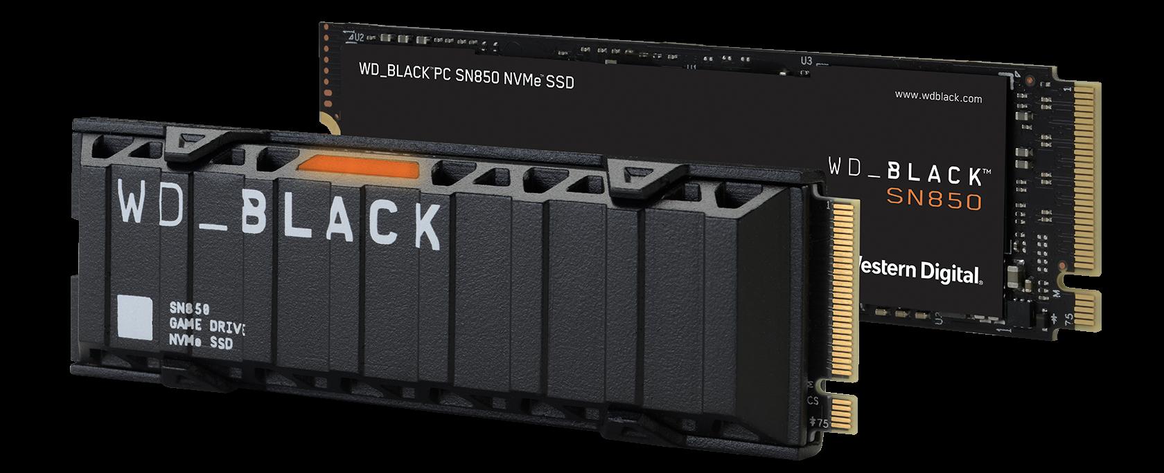 Wd Black Sn850 Nvme Ssd Family