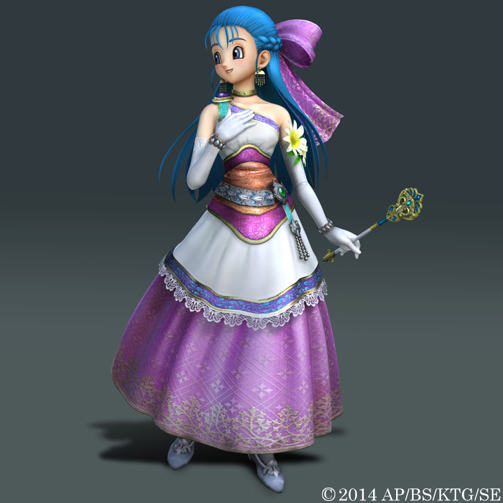 Flora Nera Briscoletti Dragon Quest V